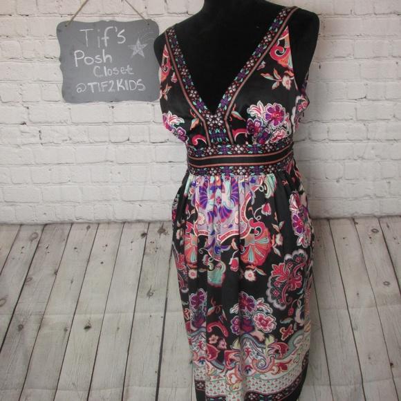 I.C.E Dresses & Skirts - I.C.E. Floral Dress Sz 12 E15